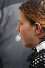 exhale (if you insist) Tags: nicotine candid cigarette smoking smoker addict exhale eurosmoke female
