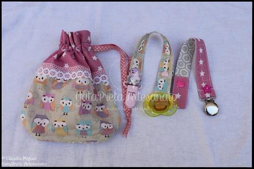 """Conjunto de maternidade """"Corujas Amorosas"""""""