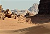 Magical Places and Things - Jordan (7) (The Spirit of the World) Tags: riverbed wadi wadirum jordan middleeast desert granite sandstone mountains rocks wild pristine unspoiled barren atmosphere remote nature