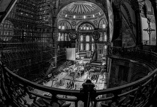 History Preservation - Church, Imperial Mosque and now a Museum. Hagia Sophia