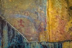 Some very cool native paintings near Puya Raimondi.