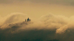 After the storm (syssy70) Tags: fog superga basilica collina torino storm nuvole landscape