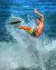 Eastside surf action 004 (mannyh808) Tags: surf surfing surfer kauai hawaii gardenisland kealia waverider