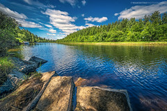 Årnes, Norway 001 - A Summer by the River (Sony A6000, Canon 10-18) (IP Maesstro) Tags: årnes norway summer landscape water river ipmaesstro hdr