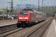 DB 146 201 Weil am Rhein (daveymills37886) Tags: db 146 201 weil am rhein baureihe traxx bombardier