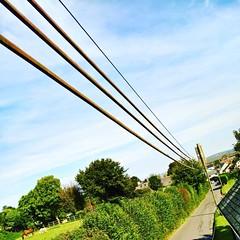 Photo of #Electrifying #countryside #views! #Atherington #NorthDevon #Devon #Power #AngloSaxonChurch #SaxonChurch #Saxon #Church #Country #Rural #Horses #Ponies #HorsingAround #Greenery