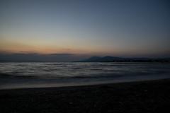 GREECE-SUMMER (X-Andra) Tags: artaki beach chalkida euboea greece greek heat heatwave longexposure phenomenon red sea sun sunset