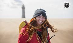 """Becks"" RNLI New Brighton Lifeguards. (alundisleyimages@gmail.com) Tags: newbrightonrnlilifeguards newbrighton wallasey wirral newbrightonlighthouse beach sand weather portsandharbours northwestengland"