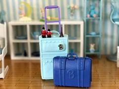 C'est parti (♥ KRIN ♥) Tags: rement barbie suitcase