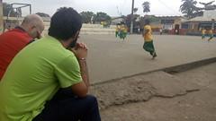 Visita al colegio de Playa Grande