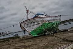 Boats... (hobbit68) Tags: boats boote wasser water küste andalucien green beach playa sand spanien spain himmei sky clouds wolken