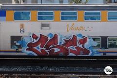 http://stolenstuff.it  CSC (stolenstuff) Tags: stolenstuff graffitiblog runn check4stolen vivalto csc graffiti graffititrain benching