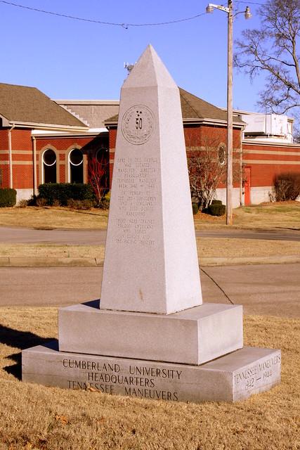 Cumberland University - Tennessee Maneuvers marker
