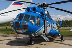 Mil Mi-8T LL - 2 (NickJ 1972) Tags: zhukovsky maks 2017 airshow aviation gromov flight research institute mil mi8 hip 08250