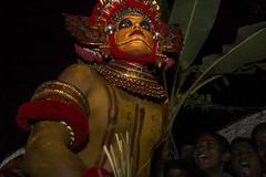 The Living Gods of Theyyam (Anoop Negi) Tags: theyyam kerala india kannur dance live performance god gods night dancing anoop negi ezee123 photo photography portrait color anger fear