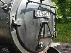 2017-07-08 - P1040590 - NYMR - 44806 before Grosmont to Goathland (GeordieMac Pics) Tags: nymr grosmont 44806 black5 geordiemac panasonic lumix dmc fz200 locomotive steam engine ©2017georgemcvitieallrightsreserved yorkshire