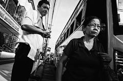 Konduktor (Meljoe San Diego) Tags: meljoesandiego ricoh ricohgr gr streetphotography street streetlife candid monochrome philippines