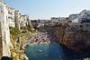 Polignano a mare, Puglia (maresaDOs) Tags: puglia italia spiaggia mare sea beach agosto 2017 it blu ombrellone summer summer2017 natura roccia nikon nikon3300 brindisi polignanoamare playa