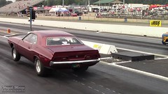 Big Tire 1972 Dodge Challenger (RPM Army) Tags: drag racing camaro bikes motorcycles caprice challenger vega nova chevy dodge shelby