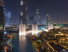 Dubai Dancing Fountain (Hany Mahmoud) Tags: dubai fountain dancing burj khalifa water lights luxury entertainment travel explore night cityscape nightscape towers modern urban uae emirates