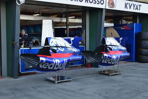 Torro Rosso STR12 engine covers