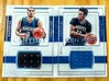 Pair of 2016-17 National Treasures Zach Lavine & Andrew Wiggins Century Materials #'d 71/99 & 17/99 (CardKing739) Tags: nba nationaltreasures andrewwiggins whodoyoucollect blowoutcards sportscards jerseycards cardhobby minnesotatimberwolves