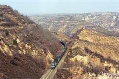 2015/2/8 GE ES59Ac  Longting (Pocahontas®) Tags: ge es59ac 135film film locomotive loco railway railroad rail train diesel engine