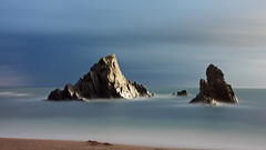 Thurlestone Rocks........... (klythawk) Tags: thurlestonerocks sea beach clouds daytime longexposure 317seconds sunlight seascape summer blue turquoise brown grey white nikon d610 24120mm formatthitech 16stop thurlestonesands kingsbridge southdevon klythawk
