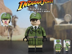 Custom LEGO Raiders of the Lost Ark: Colonel Dietrich (Will HR) Tags: lego indianajones raidersofthelostark custom