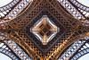 U N D E R  T O W E R (Dominique Richeux Photography) Tags: eiffel tower paris france monument tour