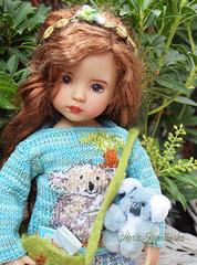 au00 (Maria Kłopotowska) Tags: littledarling koala bear sweater intarsia outfit