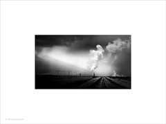 Clouds, Light and Steam (Ian Bramham) Tags: iceland photo geothermal power steam clouds blackandwhite monochrome