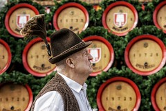 Bavarian (u c c r o w) Tags: oktoberfest portrait old man bavaria bavarian munich münchen octoberfest beer germany german deutsch deutschland urbanlife urban urbanportrait uccrow theresienwiese