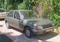 Peugeot 205 1.3 GR (Spottedlaurel) Tags: peugeot 205