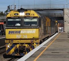 NR94-AN4-NR13 Brisbane (damoN475photos) Tags: nr94 nr an4 exsa nr13 brisbane service sandgate nationalrail pn 2017