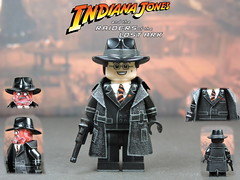 Custom LEGO Raiders of the Lost Ark: Major Arnold Toht (Will HR) Tags: lego custom raidersofthelostark indianajones