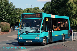 Arriva North East 2601 YJ61JFF
