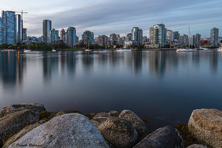 Vancouver Skyline at False Creek