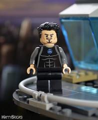 Tony Stark (WattyBricks) Tags: lego marvel superheroes tony stark tower iron man avengers minifigures portrait