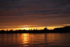 Sunset in Warmond