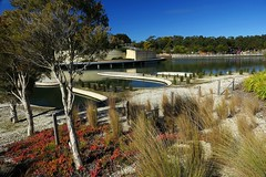 Cranbourne RBG Aug 2017 109 (Graeme Butler) Tags: water landscape history gardens australianplants architecture victoria australia