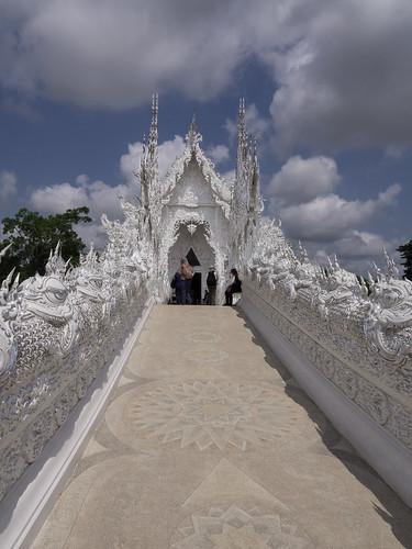 Templo Blanco (Wat Rong Khun), Chiang Rai, Tailandia