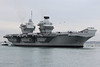 HMS Queen Elizabeth arrives in Portsmouth Harbour (mike bagwell) Tags: canon eos550d canoneos550d canonef70300mmf456isusm ef70300mm hmsqueenelizabeth royalnavy qe aircraftcarrier carrier ship navy portsmouth portsmouthharbour