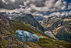 Another one from Grimsel wonderland area. Canton of Bern. Switzerland.Izakigur 27.08.09, 15:18:36 .  No. 2. (Izakigur) Tags: green grimsel grimselpass lac lake acqua water wasser life vita vie via glacier alps alpes alpen alpi mother nature mothernature switzerland svizzera lasuisse lepetitprince izakigur flickr schwyz suïssa nikkor1755f28 myswitzerland landscape helvetia liberty feel europe europa dieschweiz d200 ch musictomyeyes nikkor nikon nikond200 suiza suisse suisia schweiz suizo swiss سويسرا laventuresuisse berneroberland d700 topf25 500faves