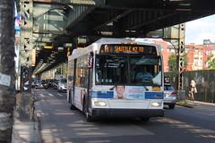 IMG_2227 (GojiMet86) Tags: mta nyc new york city bus buses 2009 orion vii ng hlf 3975 subway shuttle 2 myrtle bushwick avenue