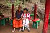 Karen Grandmother and Child 0144 (Ursula in Aus) Tags: banhuaymaegok banhuaymaegokschool hilltribeeducationprojects maehongson maesariang thep thailand