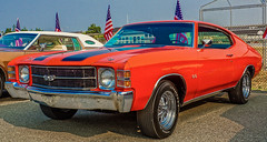 1971 Chevelle SS--DSC06757--Port Orford, OR (Lance & Cromwell back from a Road Trip) Tags: carshow2017 1971 chevrolet chevy chevelle ss portorford jubilee carshow currycounty oregon sony a77ii dt1650mmf28