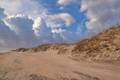 Patches of Blue (dngovoni) Tags: beach clouds dunes landscape northcarolina outerbanks sunrise nagshead unitedstates us