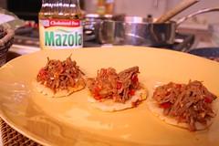 Carne de Mechada Arepas