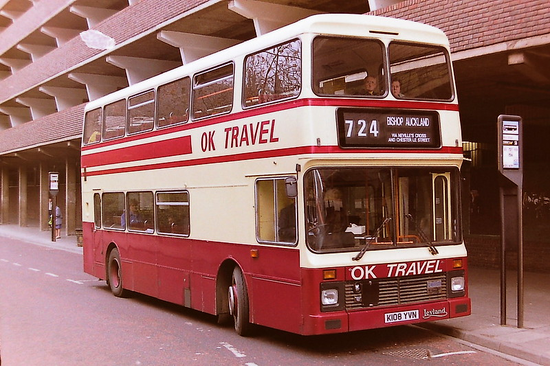OK TRAVEL BISHOP AUCKLAND K108YVN